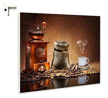 Pinnwand Küche   Magnettafel Pinnwand Mit Motiv Kuche Essen Trinken Kaffee Muhle