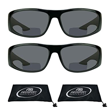 850e06201dac Amazon.com: proSPORT Bifocal Sun Reader Sunglasses for Men and Women ...