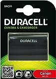 Duracell DRC511 - Batería de videocámara 7.4 V, 1400 mAh (reemplaza batería original de Canon BP-511/BP-512)