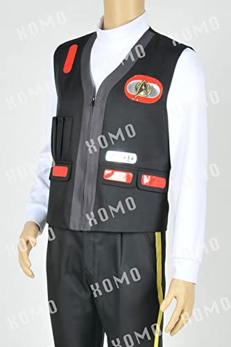 Details about  /Star Trek III-V Chief Engineering Scotty Cosplay Costume Vest High Quality New