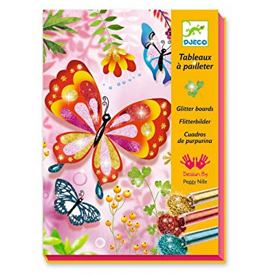 DJECO Glitter Butterflies: Toys & Games