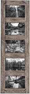 Foreside Home & Garden FFRD06187 4X6 Five Photo Weathered Wood Frame