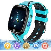 Reloj GPS Niños Smartwatch Phone - Reloj de Pulsera Inteligente con Ubicación GPS LBS Reloj con Call Voice Chat SOS…
