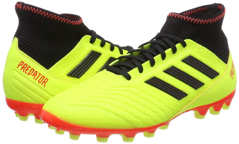 Adidas Herren Protator 18.3 Ag Fußballschuhe, Fußballschuhe, Fußballschuhe, Weiß Schwarz Rot, 40 2 3 EU  e30028