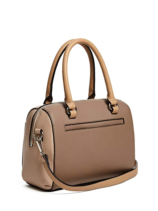 Amazon.com | GUESS Factory Womens Juxtapose Color-Block Box Satchel | Messenger Bags