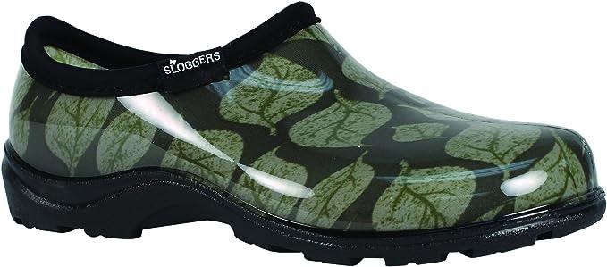 Principle Plastics Sloggers Sage Leaf Print Rain & Garden Shoes