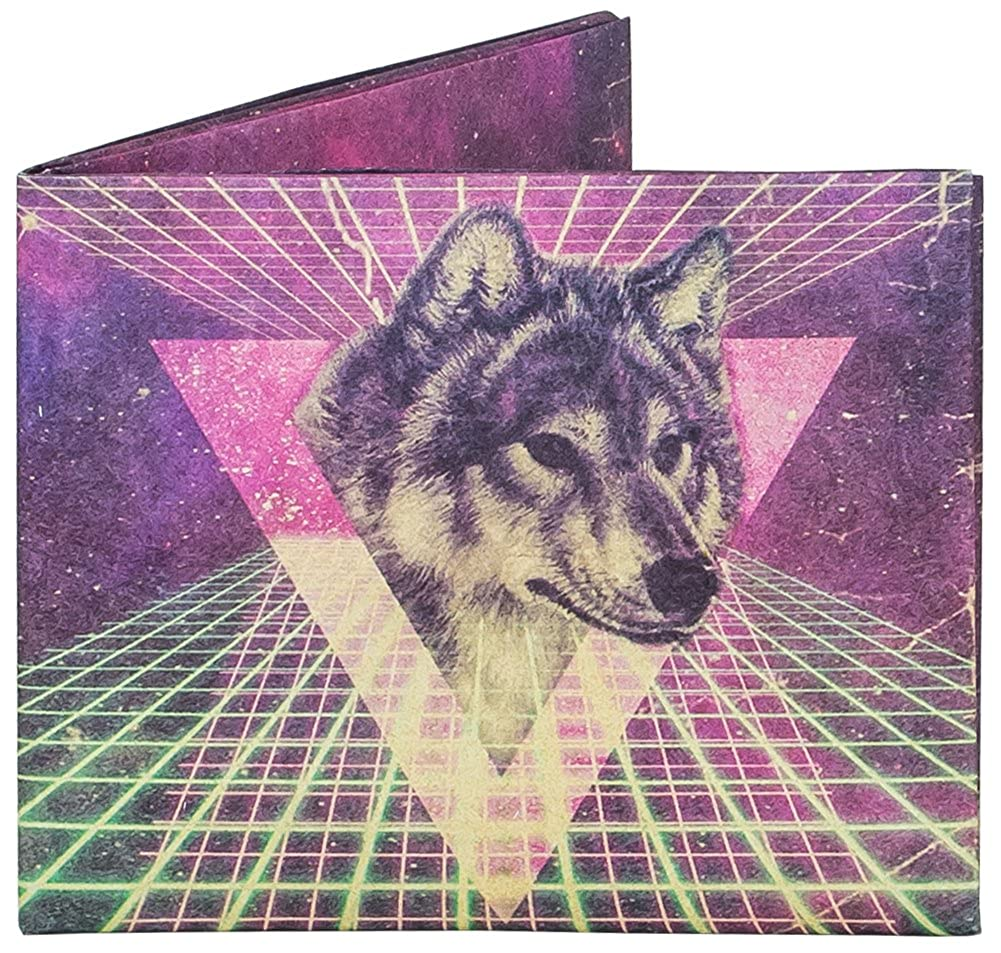 Dynomighty Space Wolf Mighty Wallet Dynomighty Design Inc. AC-MR1