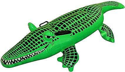 Amazon.com: Spinbit - Peluche inflable de cocodrilo, 59.1 in ...