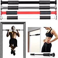 Vivo © Pro Doorway Pull-up/Chin-Up Bar Upper Body Abs Gym Fitness Training Strength