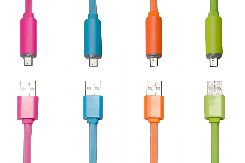 Premium Micro USB Kabel bunt: Automatische Abschaltung.: Amazon.de ...