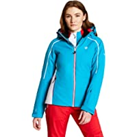 Dare2b Comity Waterproof & Breathable High Loft Insulated Ski & Snowboard Jacket With Foldaway Hood And Fixed Snowskirt…