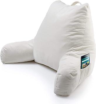 Amazon.com: Almohada de lectura de espuma con bolsillo para ...