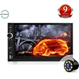 Woodman Doubledin WM-2019 with FM/Bluetooth/USB (1080px Full Hd) Car Stereo (Double Din) with Car LED Rear View Camera