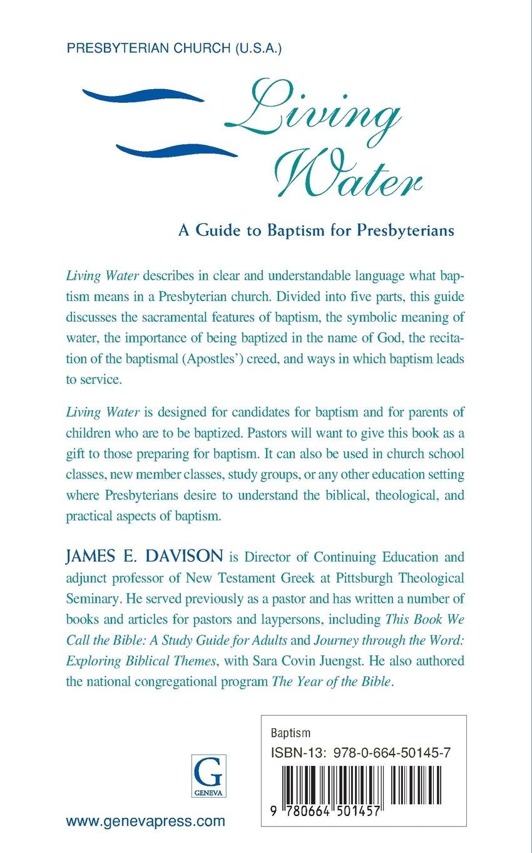 Living water james e davison 9780664501457 amazon books biocorpaavc Images
