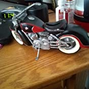 Black /& Red Motorcycle Shaped Piggy Bank home decor Free Shipping