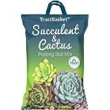 TrustBasket Succulent and Cactus Potting Soil Mix - 5 KG