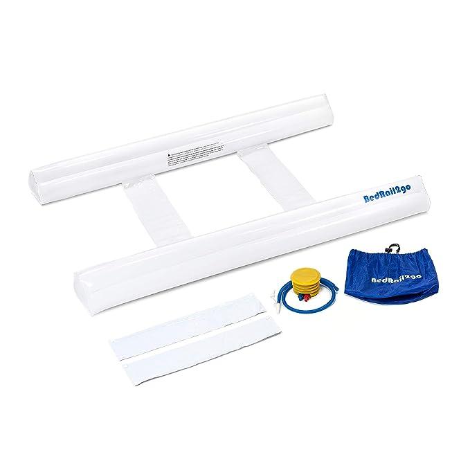 Amazon.com: [2 unidades] Parachoques hinchable para cama ...