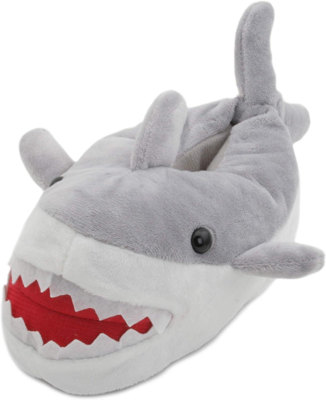 SlumberzzZ Kids Novelty 3D Grey Shark