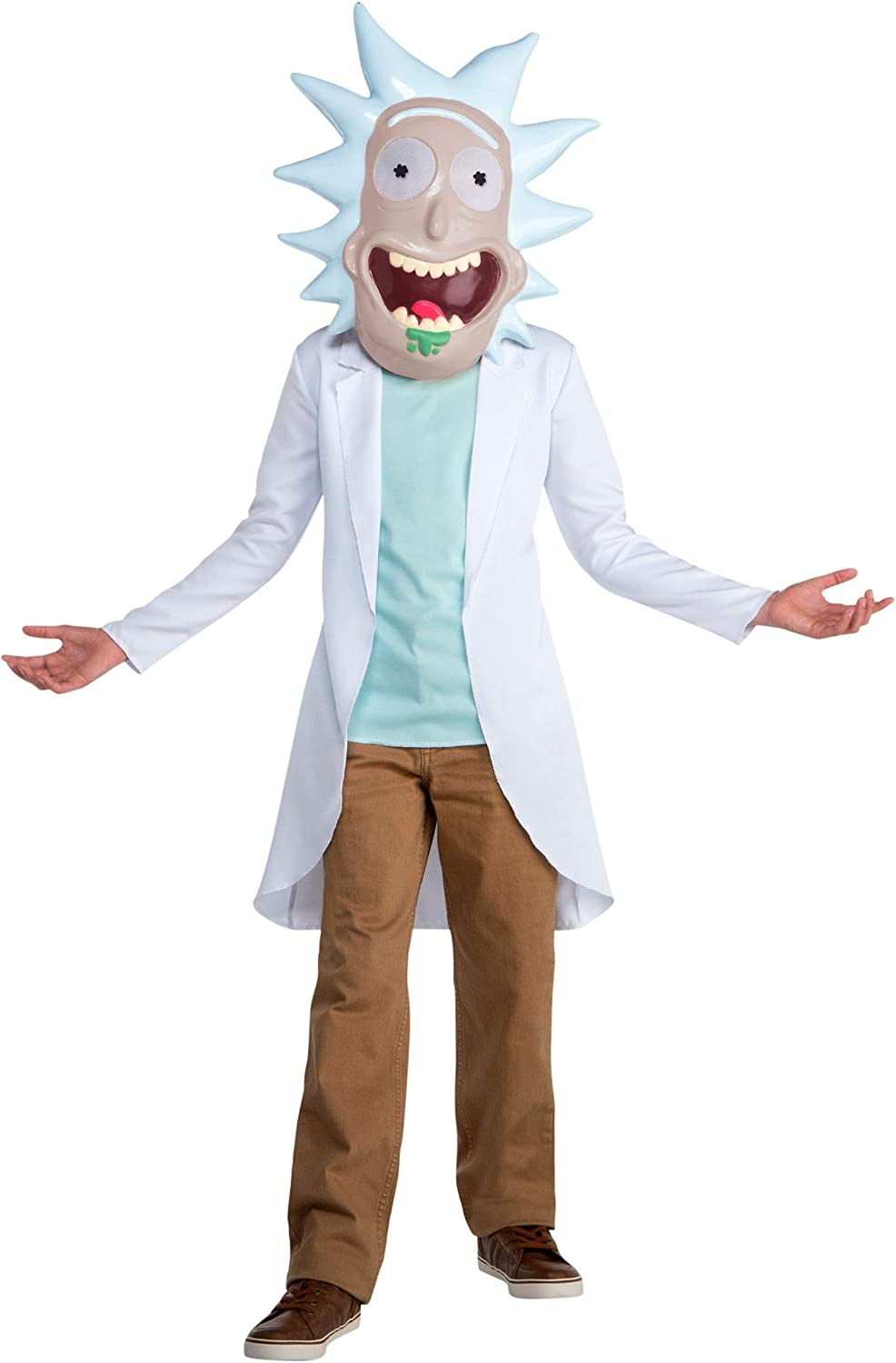 Kids Rick and Morty Rick Scientist Costume