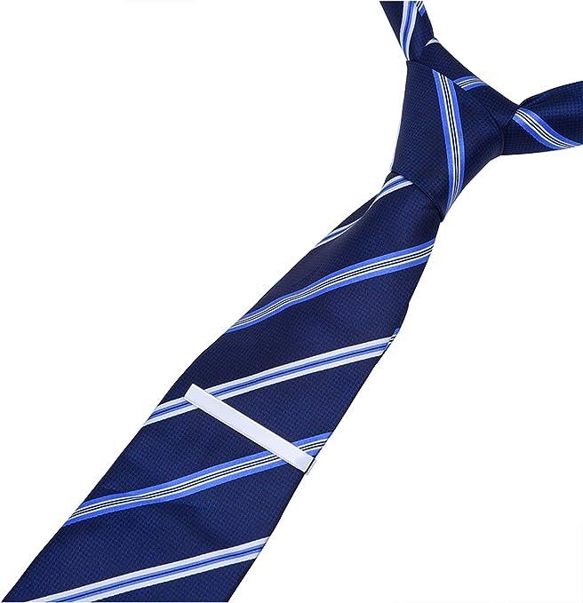 Mudder Set de 3 Pisacorbata Corbata Clip Pasadores de Corbata ...
