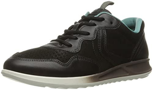 Womens Genna Low-Top Sneakers, Black Ecco