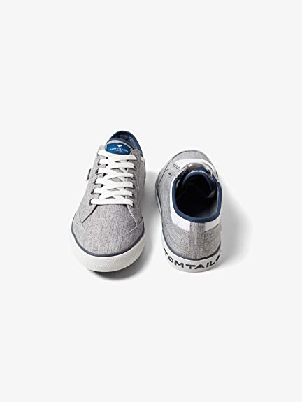 finest selection 82f3d fe14a TOM TAILOR für Männer Schuhe Strukturierte Sneaker Grey, 44 ...