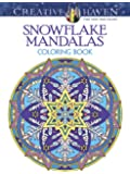Creative Haven Snowflake Mandalas Coloring Book (Creative Haven Coloring Books)