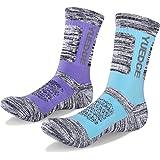 YUEDGE 靴下 レディース ソックス 女性 スポーツ アウトドア 登山 トレッキング 厚手 コットン 抗菌 防臭 綿 防寒 暖 冬用 くつした