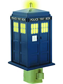 Doctor who tardis table lamp amazon home kitchen doctor who tardis night light mozeypictures Gallery
