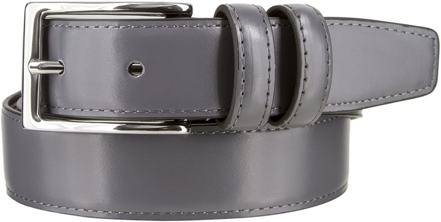 Black Color New RB30 Casual or Dress Mens Genuine Leather Belt 1 1//8 Wide