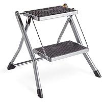 VonHaus Ladder, Robust Folding Ladder 2 steps