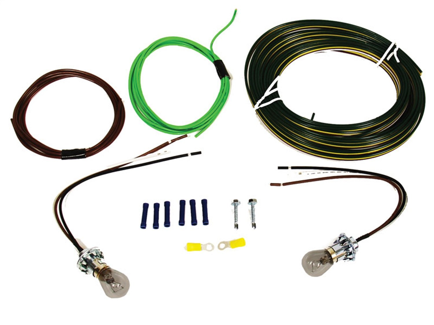 Blue Ox Bx8869 Bulb And Socket Tail Light Wiring Kit Jeep Jk Trailer Harness Install Automotive