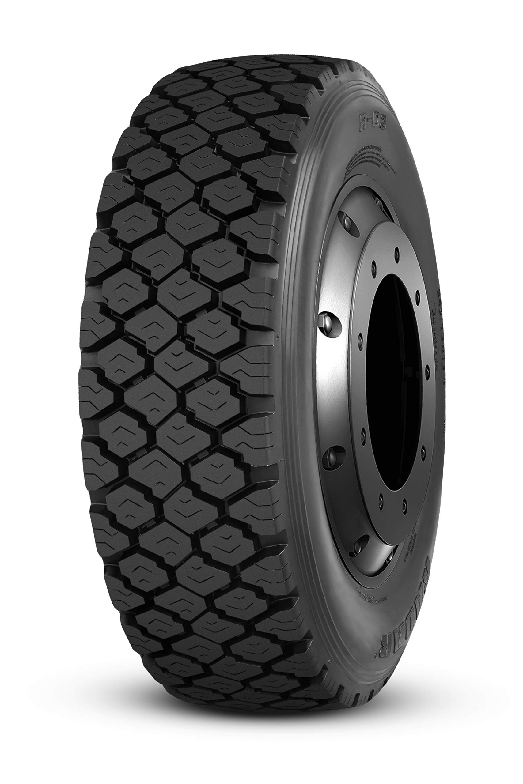 Radar RD3 Commercial Truck Radial Tire-245/70R19.5 136M 16-ply by Radar