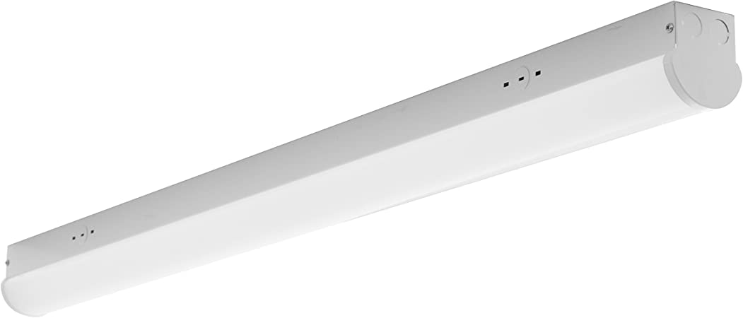 Garages Stores LED Strip Light-8FT-65W-3500K-Perfect for Offices /& Basements