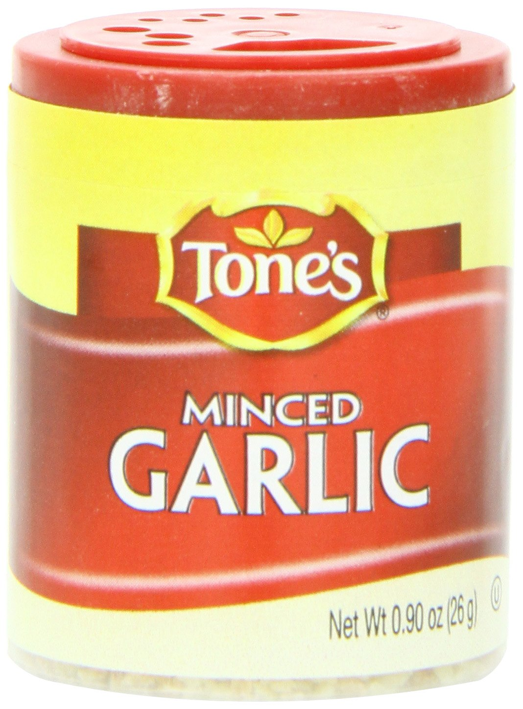 Tone's Mini's Garlic, Instant Minced, 0.90 Ounce (Pack of 6)