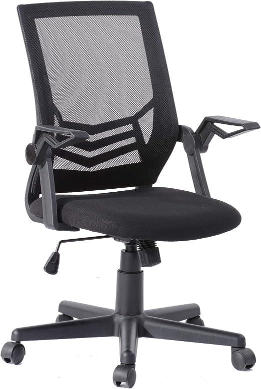 Inter Link Drehstuhl Bürostuhl Chefsessel in schwarz ideal