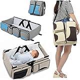 Babyschale Tragbare Reise-Wickeltasche Wechsel-Bett mit Matte faltbar Multifunktionale, geeignet für 0–12Monate
