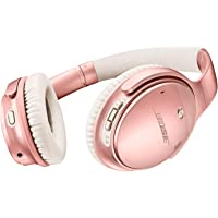 Bose QuietComfort 35 (Series II) Wireless Headphones, Noise Cancelling, with Alexa Voice Control, Rose Gold - 789564-0050