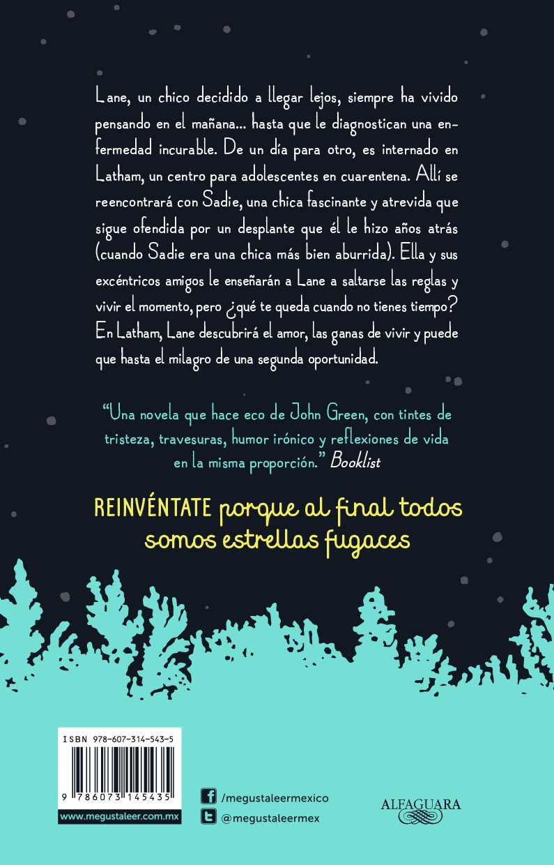 Amazon.com: Estrellas fugaces / Extraordinary Means (Spanish Edition) (9786073145435): Robyn Schneider: Books