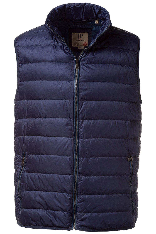 JP 1880 Große Größen bis 7 XL | Steppweste in blau | Weste mit Steppung & Reißverschluss | 2 Zippertaschen & Futter mit Kletttasche | 708438 | Große Größen