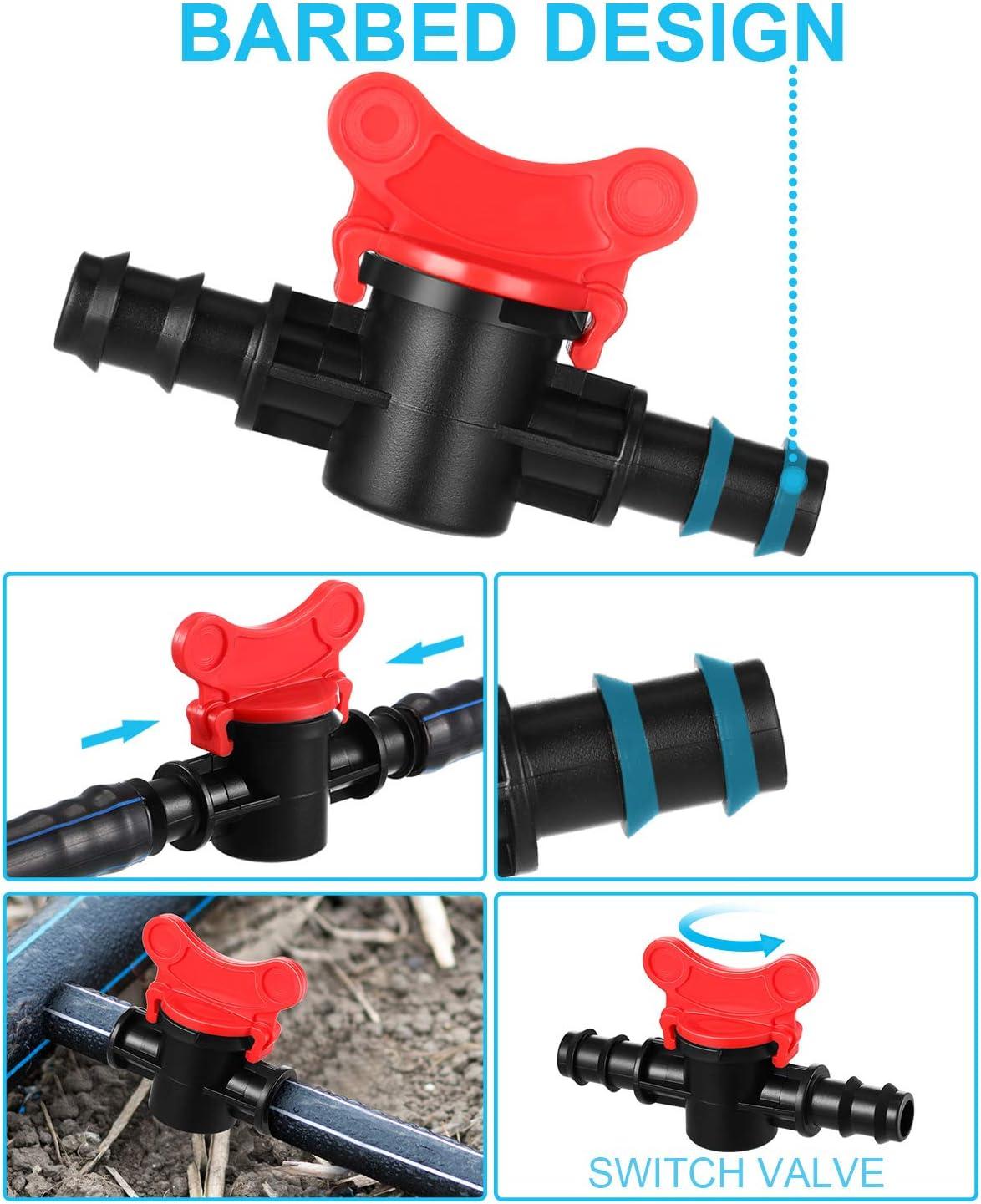 Patio, Lawn & Garden Irrigation Fittings Kit Tubing 37 Piece Set,1 ...