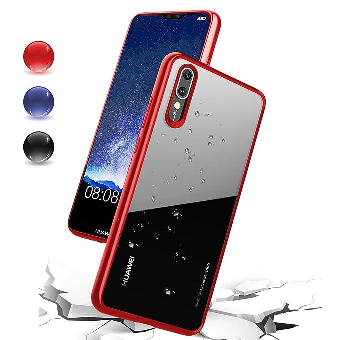 Shmimy Funda Huawei P20 Pro, transparente Carcasa Anti-Arañazos Ultra Fina Funda para Huawei P20 Pro