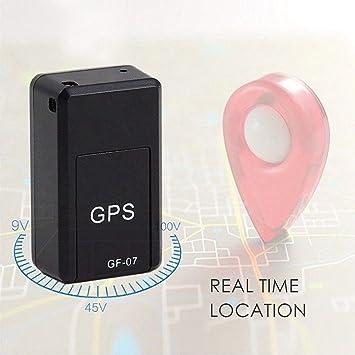 Mxjeeio💖Mini GPS Tracker Localizador GPS Rastreador de Voz magnético GPS Antirrobo de SMS Seguimiento en Tiempo Real para Coche Vehículos Moto Bicicletas Niños Billetera Documentos (Negro): Amazon.es: Deportes y aire libre