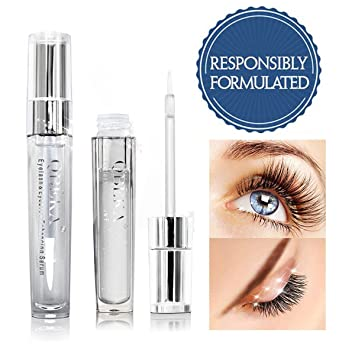 c4650eebc93 QBEKA Eyelash Growth Enhancer & Eyebrow Serum for Long, Luscious Lashes &  Brows - Lash