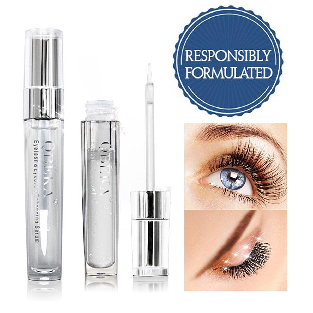 Amazon Qbeka Eyelash Growth Enhancer Eyebrow Serum For Long