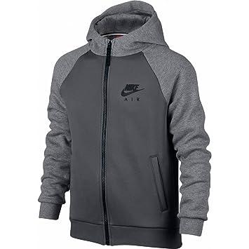 aa944b52f Nike B NSW HD FZ AIR HYBRID - Sweatshirt for Boys, Size S, Colour Grey:  Amazon.co.uk: Sports & Outdoors