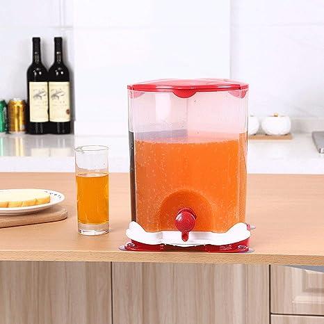 A2524 dispensador de jugo que gira tres barriles de barril de cerveza de grifo de barril
