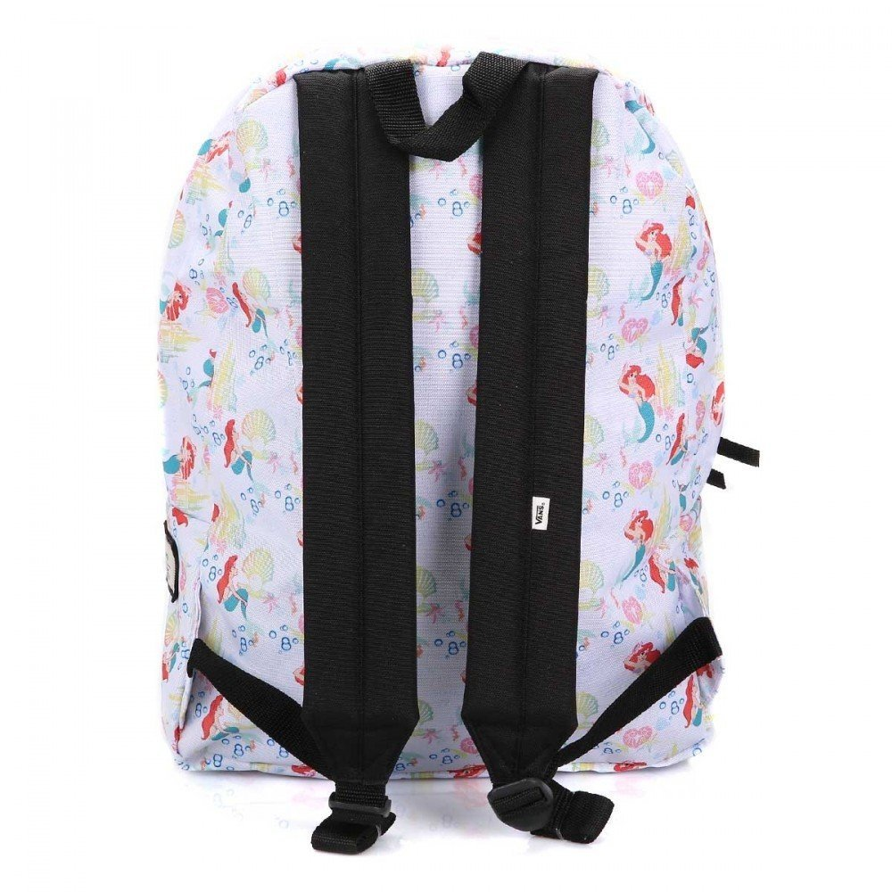 871b4726edb Vans Off The Wall Women s Disney The Little Mermaid Ariel Backpack Bag   Amazon.co.uk  Sports   Outdoors