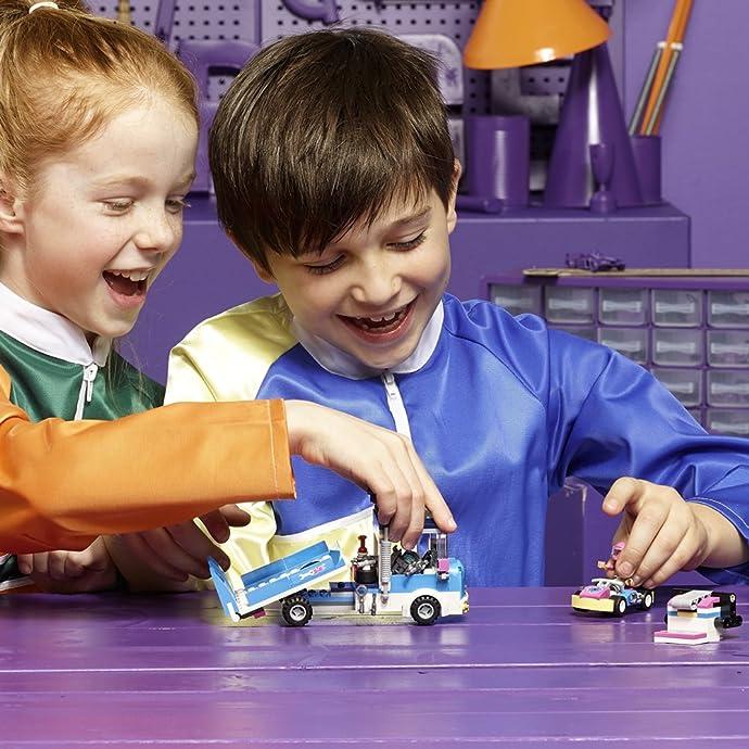LEGO 乐高 Friends 好朋友系列 41348 赛道救援车玩具 7折$13.97史低 海淘转运到手约¥120