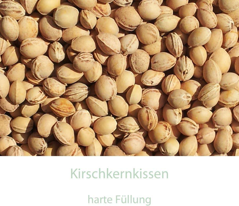W/ärmekissen /& K/ältekissen K/örnerkissen Rapssamenkissen 12x12cm Bio Stoff rot-wei/ß